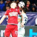 Dinamo a început a treia aventură consecutivă în play-out, foto: GSP