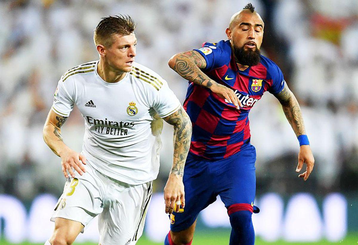 Toni Kroos, cifră AIURITOARE în El Clasico! Câte pase corecte a reușit mijlocașul lui Real cu Barcelona