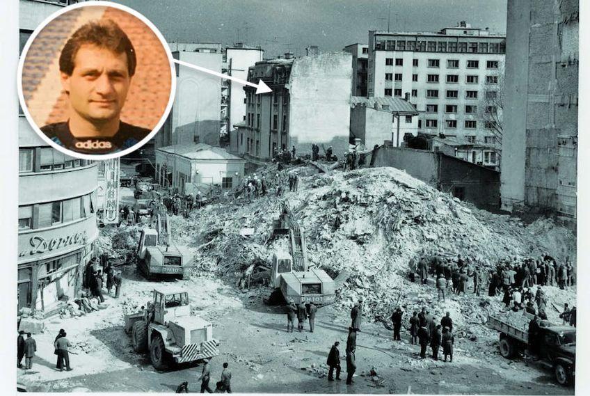 Daniel Gherasim explică la GSP Live tragedia de la cutremurul din 1977. În Imagine,  locuința unde stătea în vremea aceea