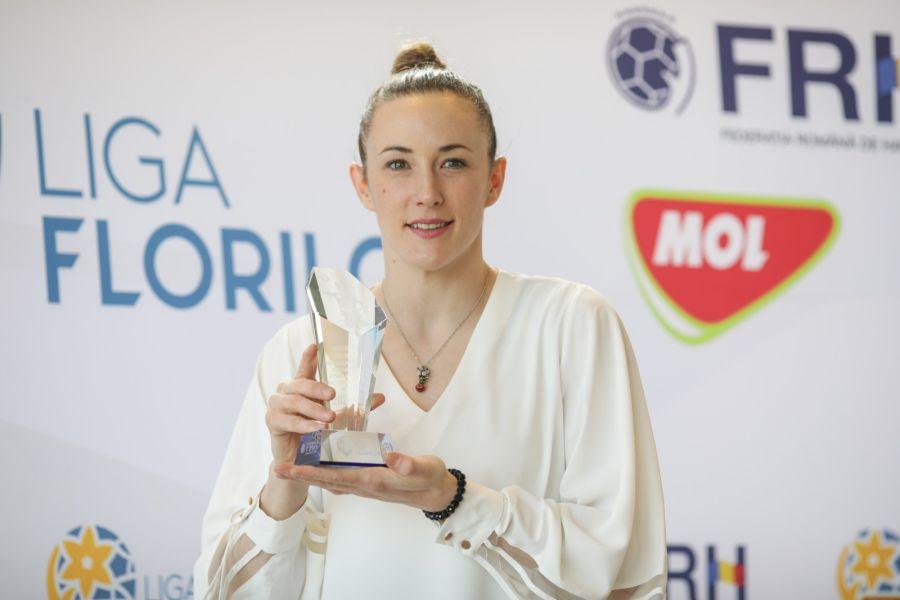 Kristina Liscevici, artista din echipa vâlceană FOTO Octav Ganea
