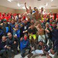 Bucuria celor de la Gaziantep după victoria cu Genclerbirligi // foto: Twitter @ Gaziantep