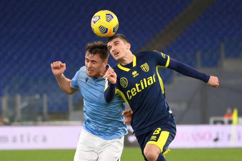 Valentin Mihăilă (foto dreapta) ar putea începe ca titular meciul Parma - Inter