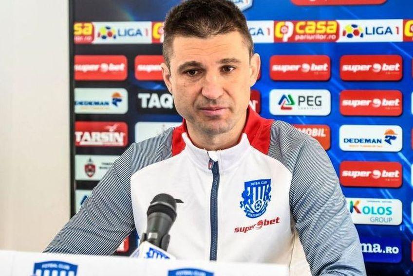 Andrei Cristea, antrenor Poli Iași
