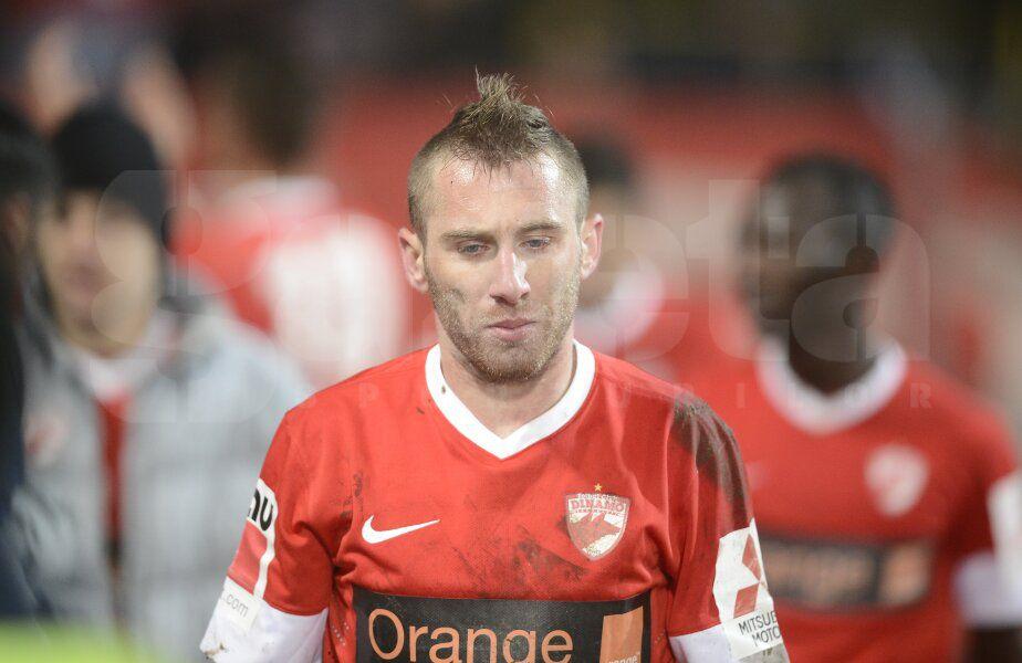 Sorin Strătilă în tricoul lui Dinamo