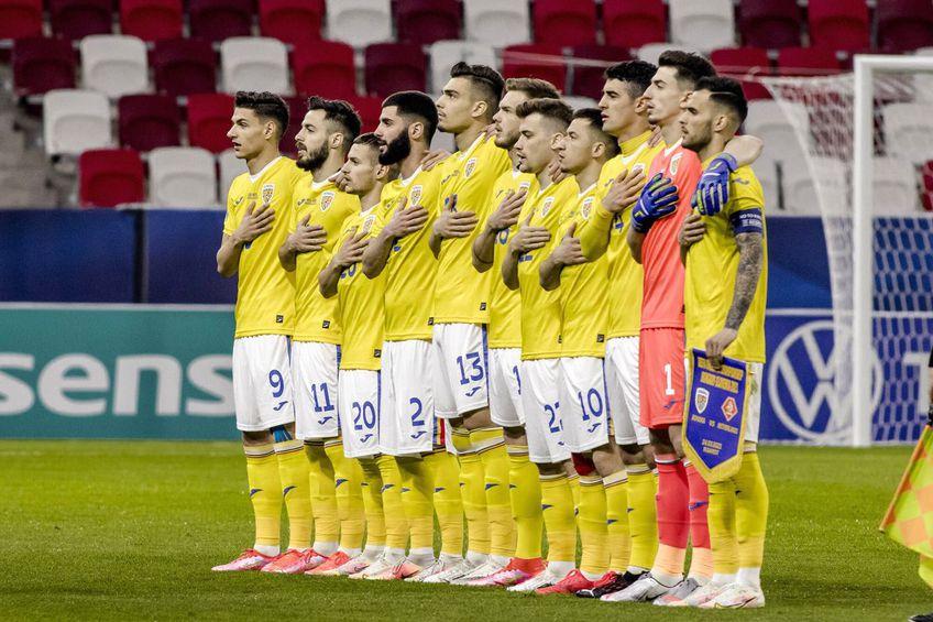 Echipa națională U21 a României // foto: Imago