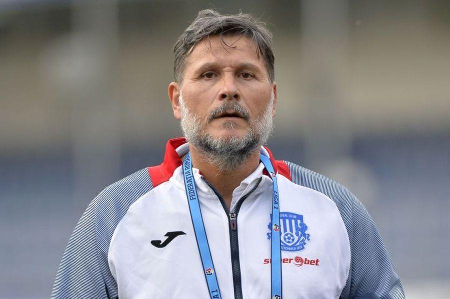 Nicolo Napoli (59 de ani), antrenorul lui Poli Iași