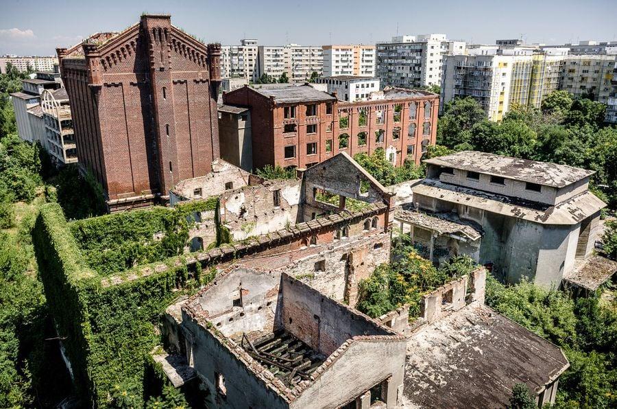 Ruinele Morii lui Assan, faimoasă în București