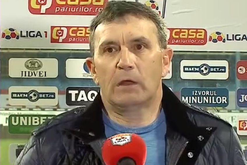 Astra a învins-o pe Dinamo, scor 1-0, în prima semifinală a Cupei României, manșa tur. Eugen Neagoe, 53 de ani, antrenorul giurgiuvenilor, a tras concluziile la finalul meciului.
