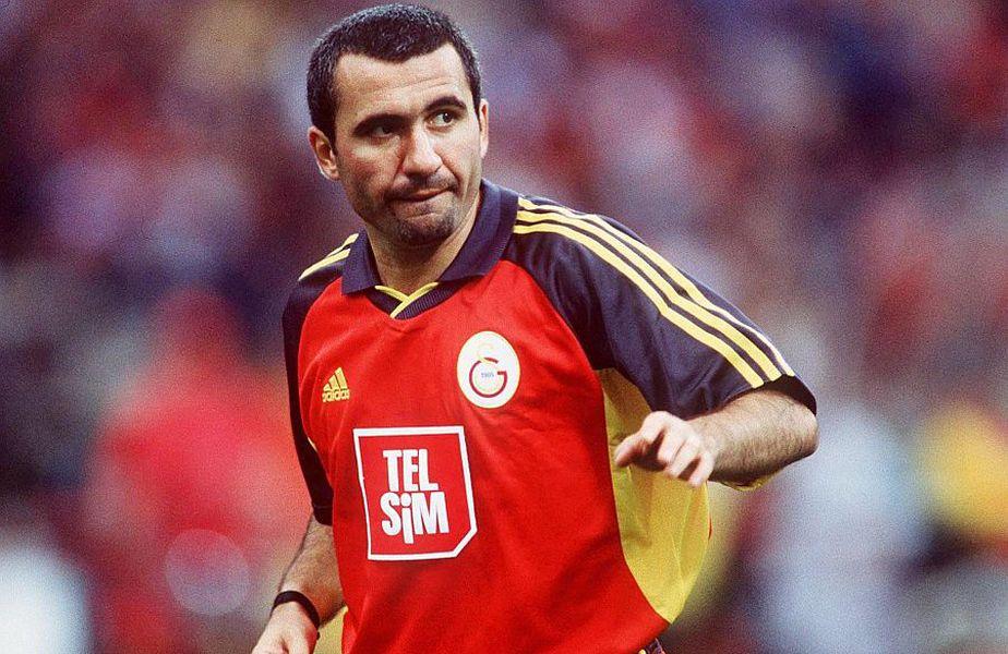 Gică Hagi, o legendă a lui Galatasaray // FOTO: Guliver/GettyImages