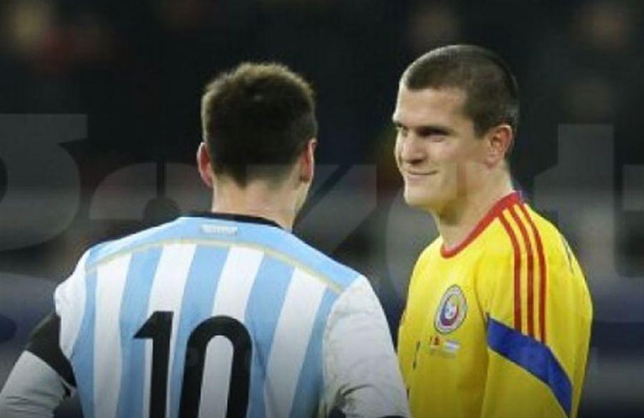 Alexandru Bourceanu nu a putut să obțină tricoul lui Messi