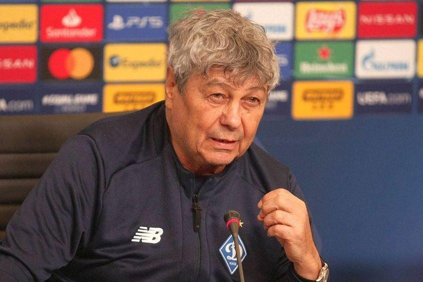 Mircea Lucescu, antrenor Dinamo Kiev