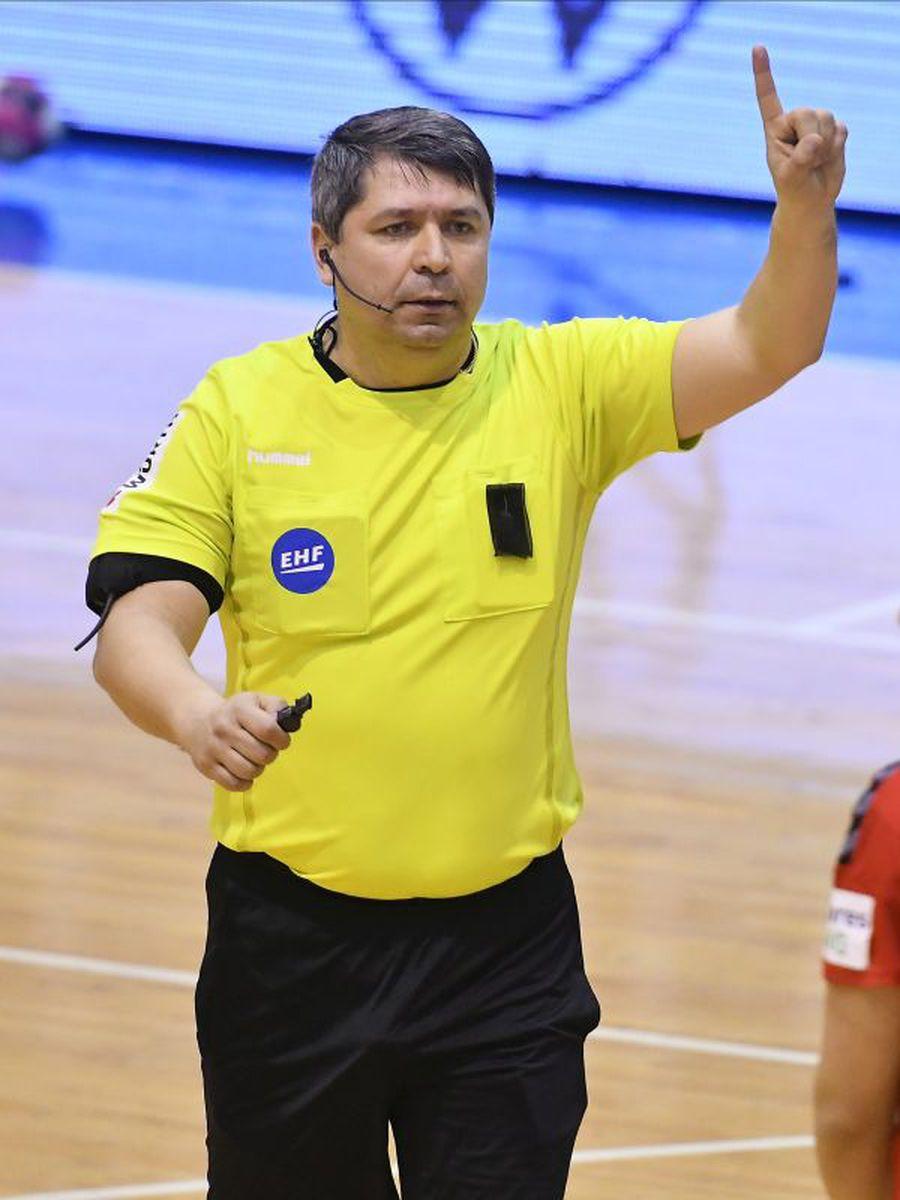Romeo Ștefan a inventat o decizie care a inflențat rezultatul final FOTO sportpictures.eu