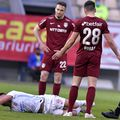 Radu Petrescu a condus și ultimul meci dintre CFR Cluj și FCSB, din Supercupa României // foto: Imago