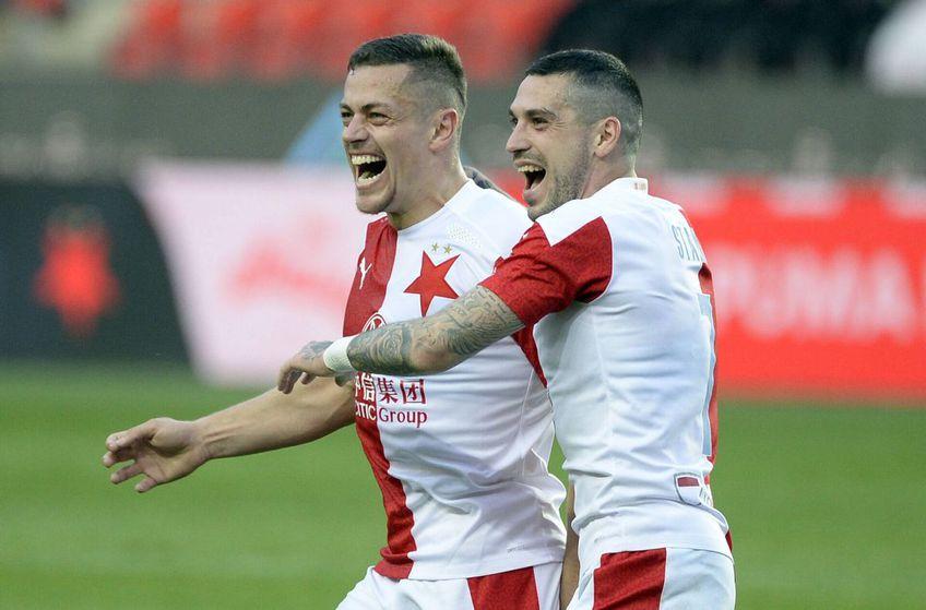 Slavia Praga, echipa la care joacă Nicolae Stanciu, a câștigat al 3-lea titlu consecutiv în Cehia, cu 4 runde înainte de finalul sezonului.
