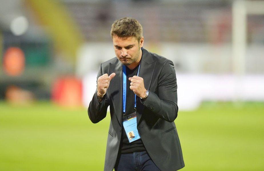 Adrian Mutu e gata să debuteze pe banca României U21