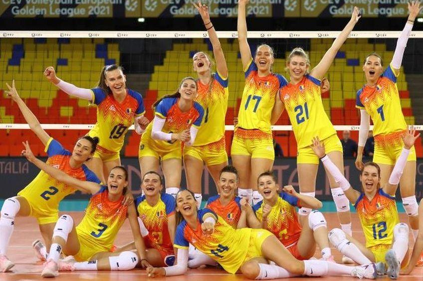Echipa României, după victoria cu Franța // FOTO Marius Ionescu