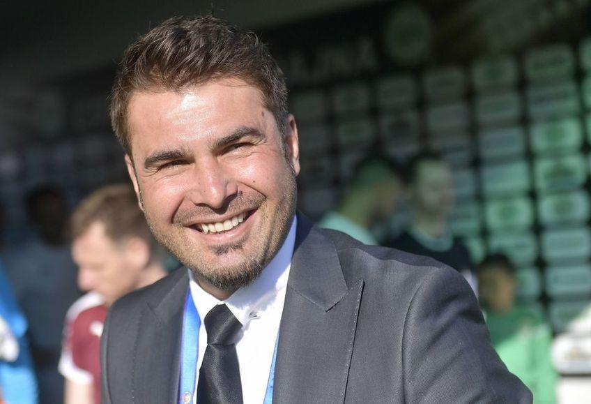 """Adrian Mutu (42 de ani) a fost prezentat azi la FC U Craiova. """"Briliantul"""" s-a declarat impresionat de baza de pregătire pe care o va avea clubul lui Adrian Mititelu."""