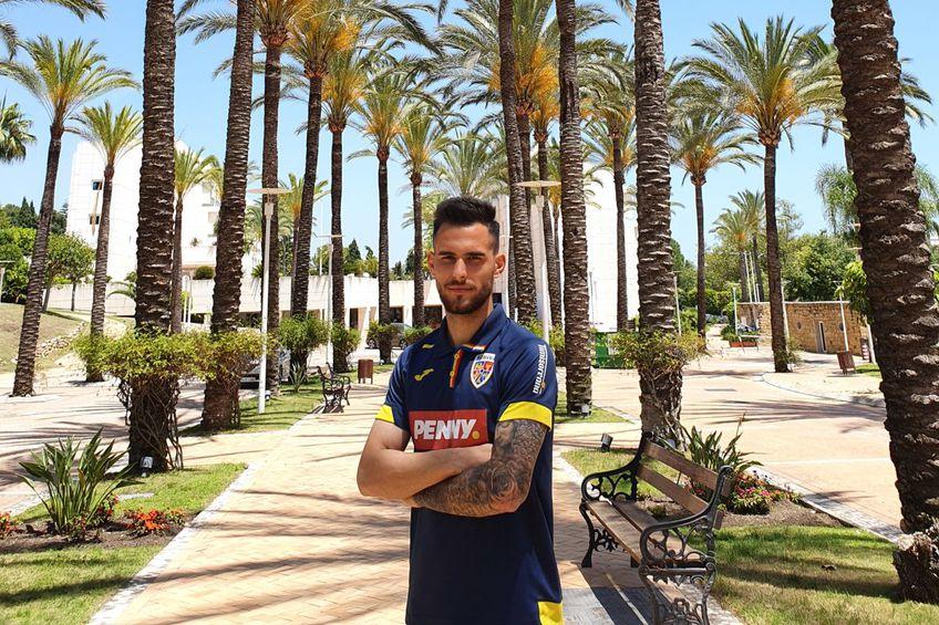 """Marius Marin: """"Vreau în Serie A! Am refuzat să mă întorc în România"""""""