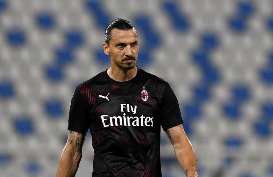 Zlatan Ibrahimovic a revenit pe teren în meciul SPAL - Milan 2-2 // foto: Guliver/gettyimages