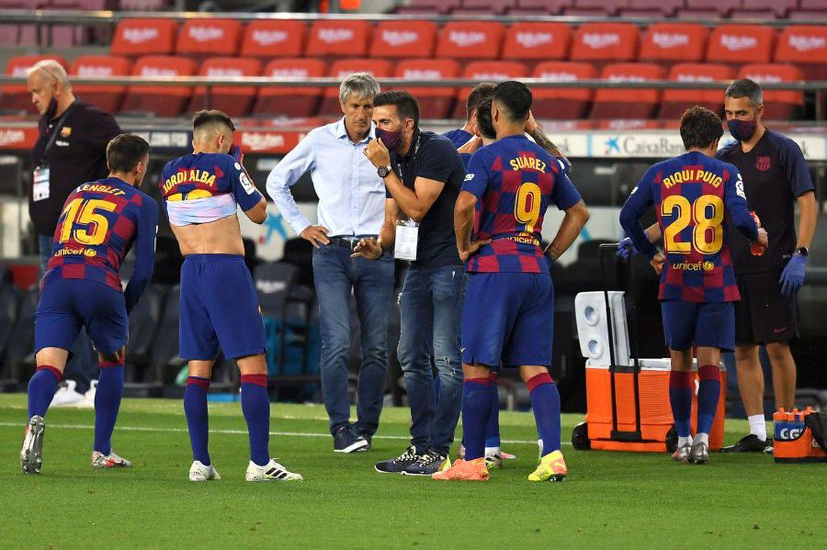 Barcelona, din lac în puț! L-au dat afară pe Valverde, dar le e mai rău cu Setien pe bancă