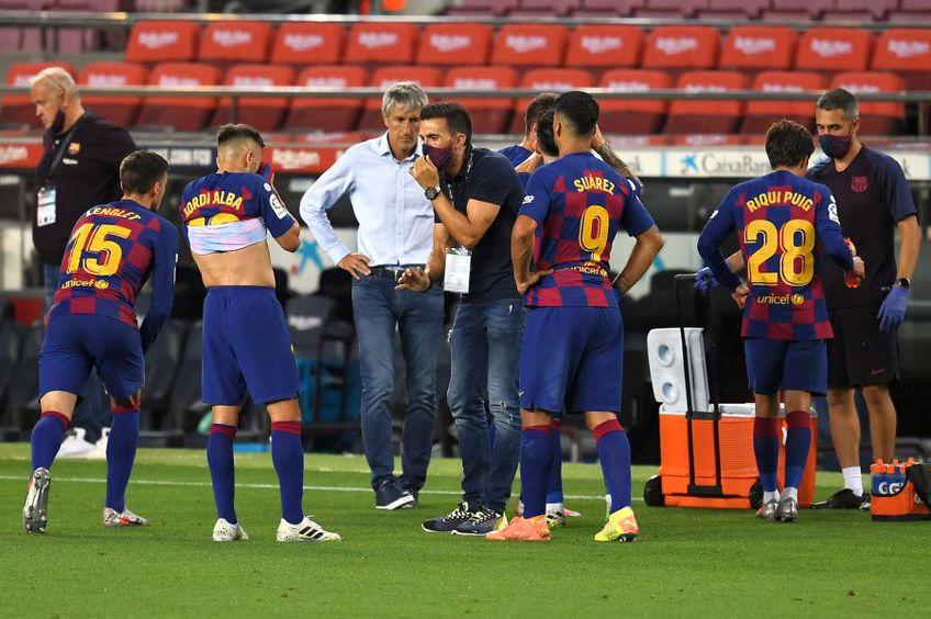 Barcelona a remizat cu Atletico în ultimul său meci, scor 2-2 // foto: Guliver/gettyimages