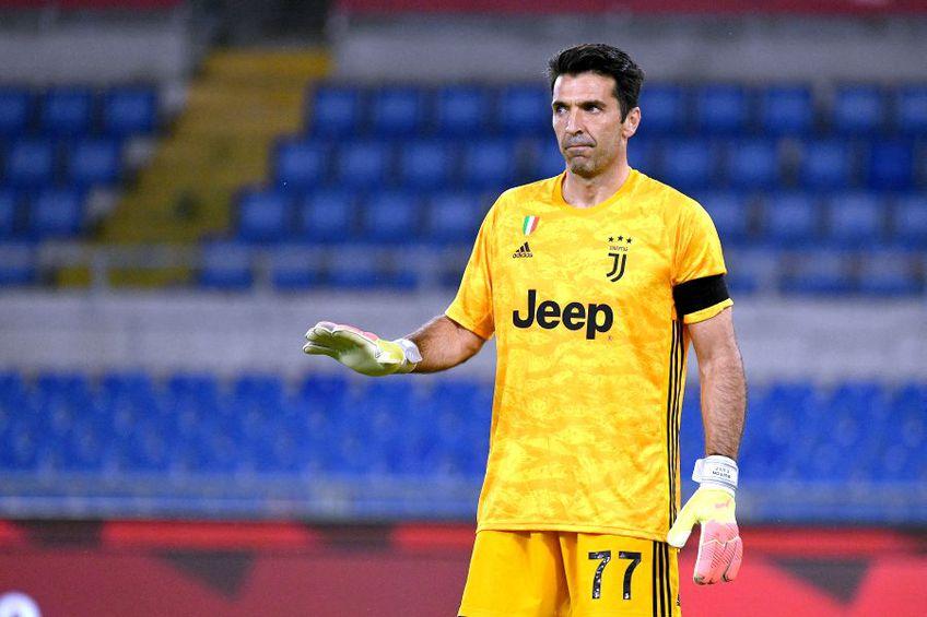 Gianluigi Buffon și Juventus se află pe primul loc în Serie A // foto: Guliver/gettyimages