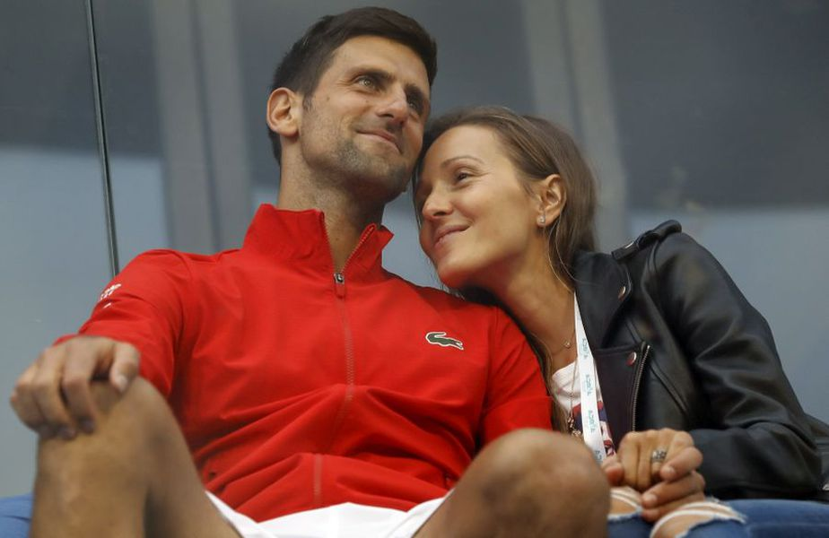 Novak și Jelena Djokovic // foto: Guliver/gettyimages