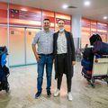Pera pe aeroportul din Moscova cu reprezentanta ȚSKA FOTO ȚSKA