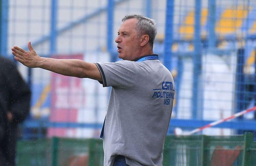 Mircea Rednic (58 de ani), antrenorul lui Poli Iași, își dorește ca Liga 1 să adopte sistemul cu 16 echipe