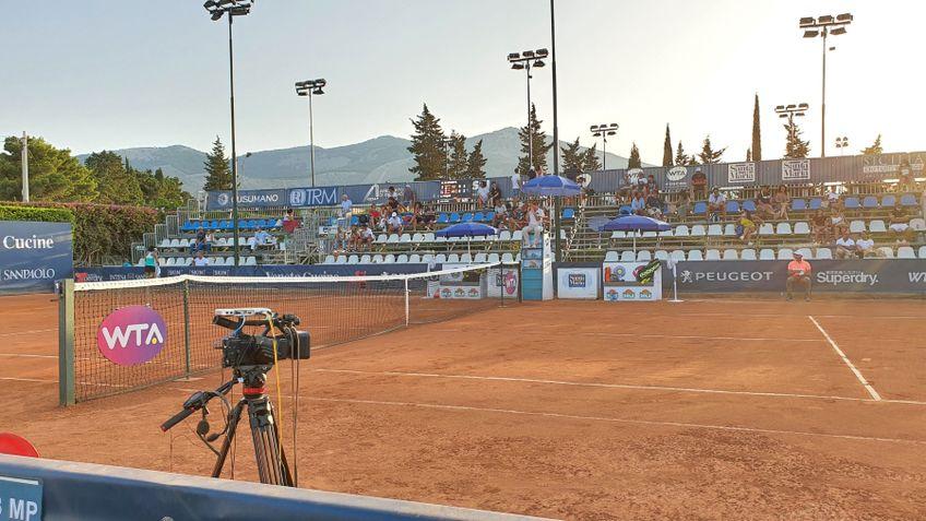 Arena principală de la Palermo FOTO  Twitter Palermo Ladies Open