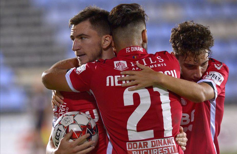 Dinamo a învins-o pe Voluntari, scor 2-1, în etapa cu numărul 13 din play-out-ul Ligii 1