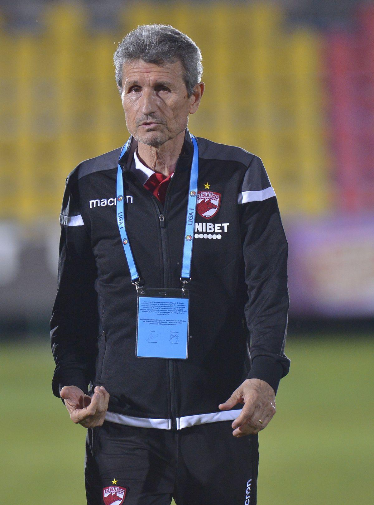 """VOLUNTARI - DINAMO 1-2. Izbucnire total neașteptată a lui Gigi Mulțescu: """"Mai uşor, că ţi-ai luat viteză! S-au umflat muşchii pe tine"""""""
