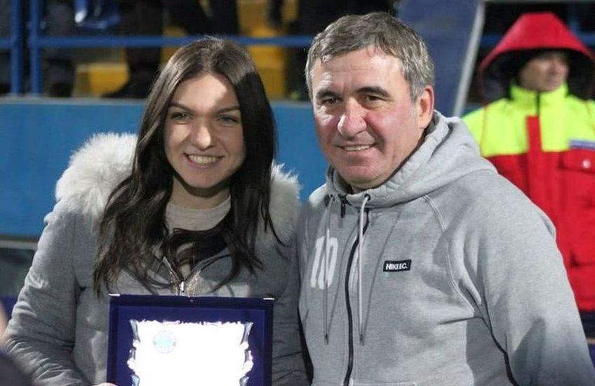 Gică Hagi și Simona Halep.