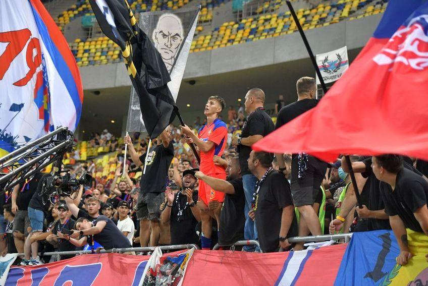 Peluza Nord a fost alături de FCSB în primele meciuri ale sezonului