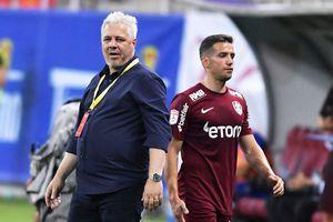 Șumudică l-a exclus din lot pe Chipciu! Nervi la CFR Cluj înainte de meciul din Champions League