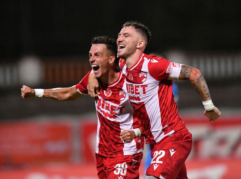 """Dinamo - Clinceni  3-1 » Spectacol în Ștefan cel Mare! """"Câinii"""" întorc scorul și obțin a doua victorie în Liga 1"""