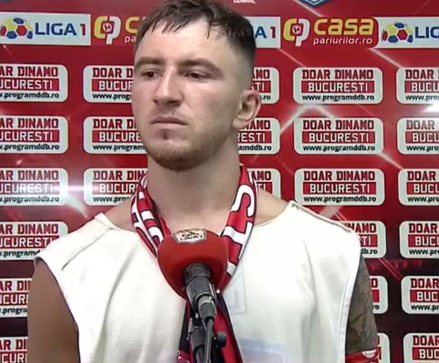 """Deian Sorescu, trist și după """"dubla"""" din Dinamo - Clinceni: """"Chiar dacă nu sunt dorit, eu dau totul! Mă doare, dar nu doar pentru mine"""""""