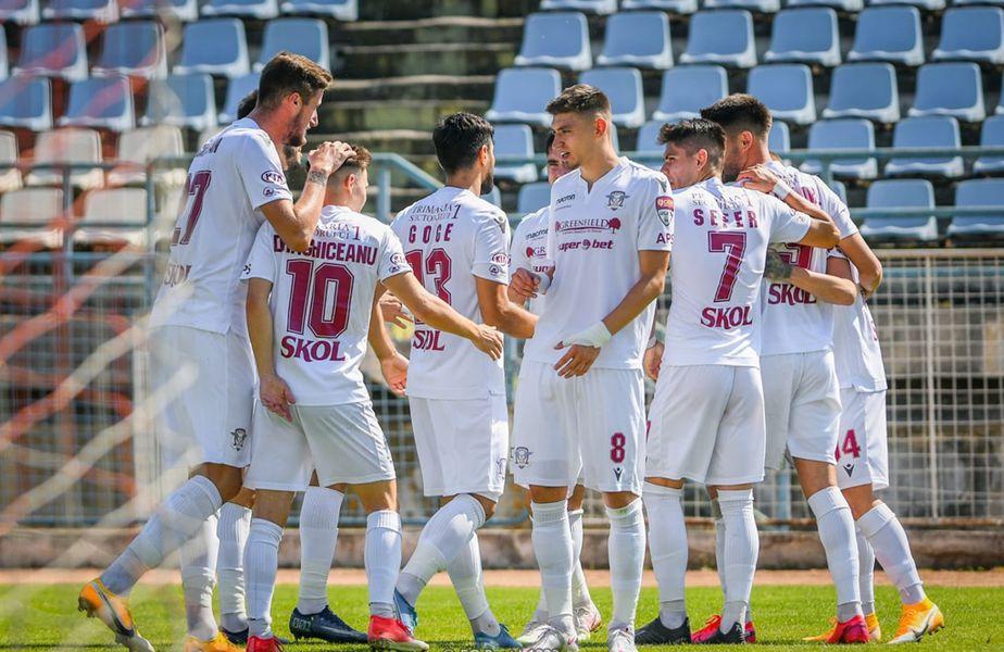 Meciul dintre FC Rapid București și Concordia Chiajna va putea fi urmărit liveTEXT pe gsp.ro, de la ora 18:00.