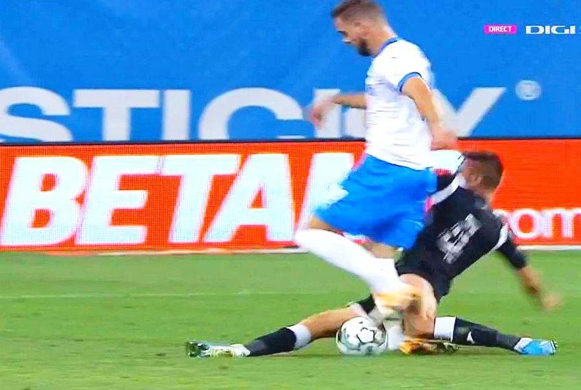Elvir Kolic, golgeterul Craiovei, a suferit o accidentare gravă în minutul 35 al partidei cu Poli Iași.