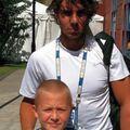Micuțul Sebastian Korda și o fotografie de colecție cu Rafael Nadal: Sursă foto:instagram.com/sebastiankorda