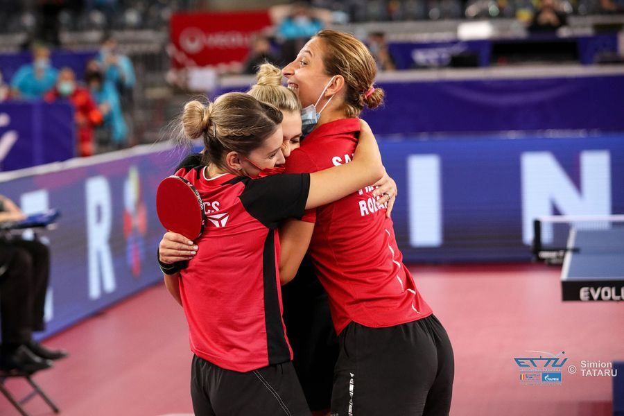 Echipa feminină a României joacă duminică la Cluj-Napoca a patra finală europeană consecutivă