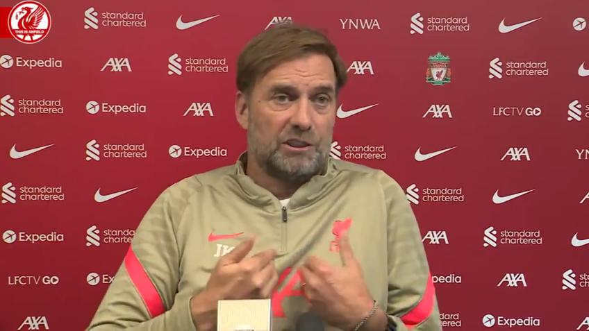 Jurgen Klopp, 54 de ani, antrenorul lui Liverpool