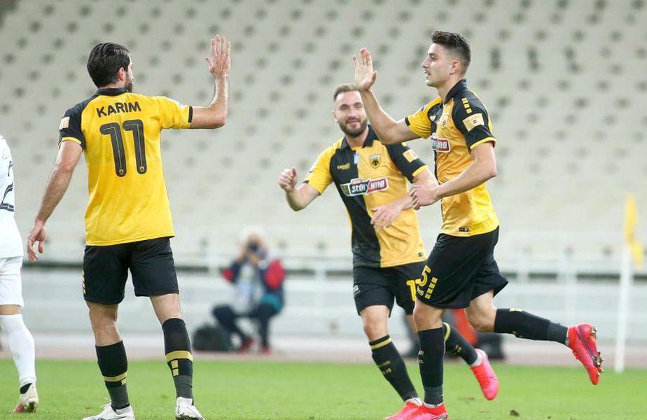 Ionuț Nedelcearu a marcat cu OFI Crete // foto: Facebook @ AEK FC