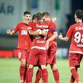 Toni Petrea, antrenorul lui FCSB, a ales să nu folosească niciun vârf autentic pentru partida contra Chindiei Târgoviște.