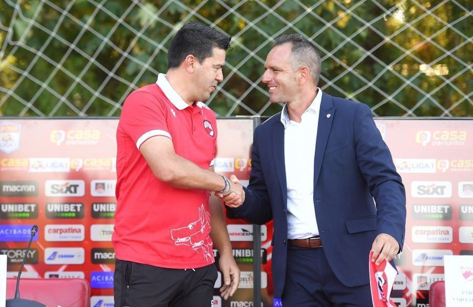Cosmin Contra și Pablo Cortacero, acționarul majoritar al lui Dinamo