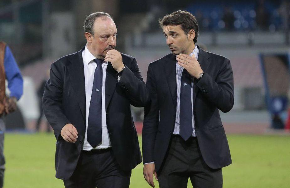 Fabio Pecchia (dreapta), alături de Rafa Benitez // IMAGO