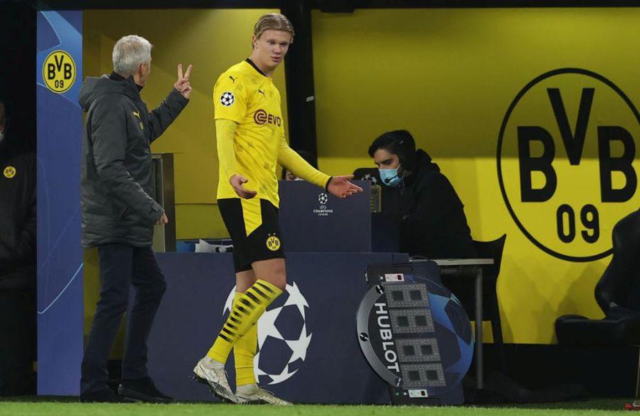 Erlind Haaland (20 de ani), starul lui Borussia Dortmund, nu va mai juca în acest an (foto: Getty)