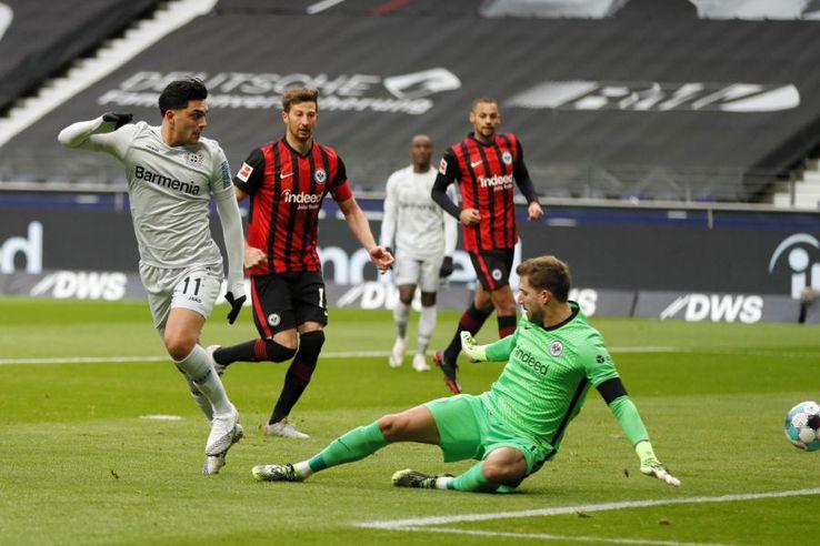 Nadiem Amiri, gol senzațional în Frankfurt - Leverkusen 2-1 / foto: Guliver/Getty Images