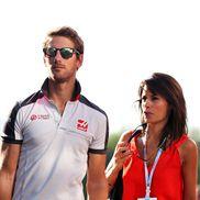 Marion Jolles, soția lui Romain Grosjean. foto: Guliver/Getty Images