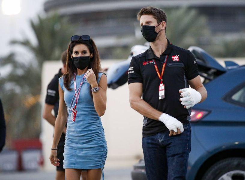 Marion Jolles, soția lui Romain Grosjean
